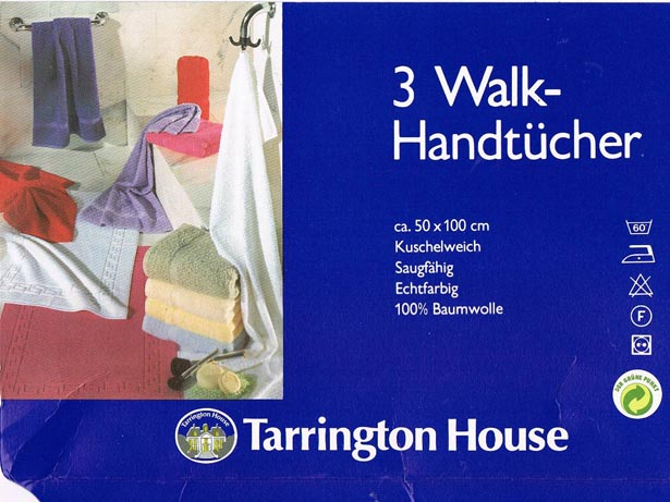Laufende Handtücher oder: what\'s a walk hand?